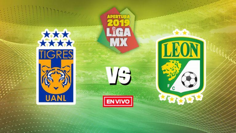 Tigres Vs Leon Liga Mx En Vivo Y En Directo Jornada 8 Apertura 2019