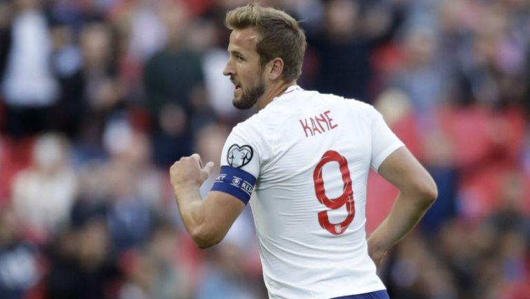 Harry Kane celebrando una anotación con Inglaterra