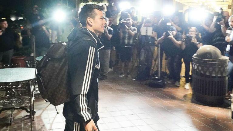 Chucky Lozano arriba a San Antonio