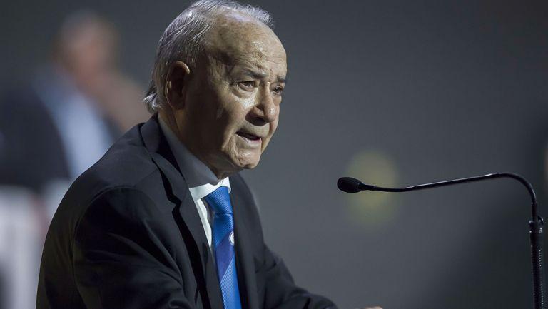 Álvarez, en conferencia de prensa