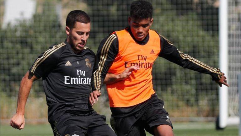 Hazard, listo para su debut oficial con Real Madrid