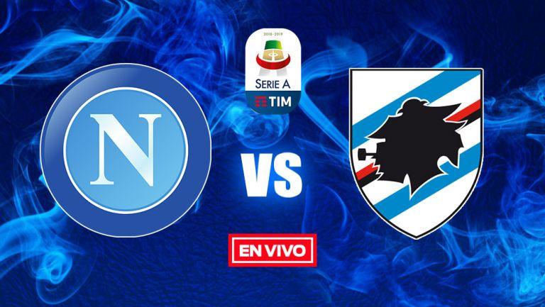 EN VIVO y EN DIRECTO: Napoli vs Sampdoria