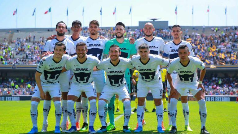 Pumas se retrató previo al duelo ante Toluca