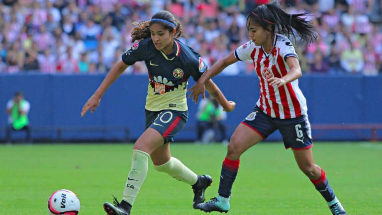 Chivas se impone en el Clásico Nacional Femenil