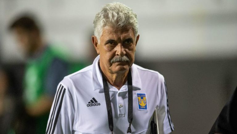 Tuca Ferretti, durante la Final de Leagues Cup