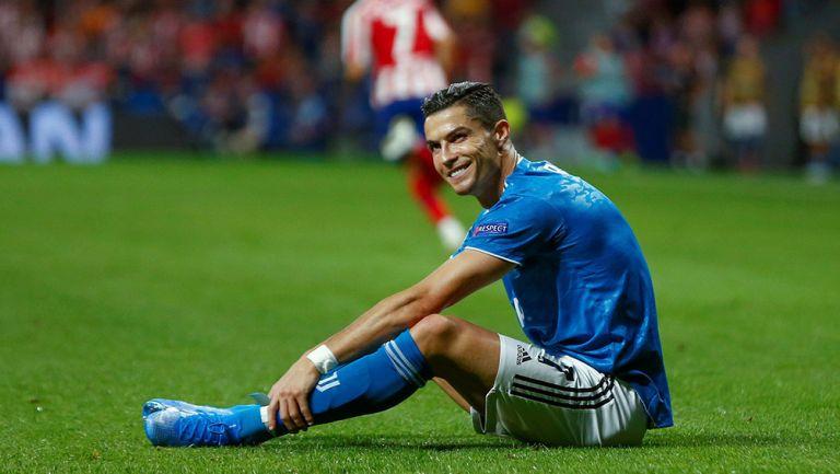 Cristiano Ronaldo, durante juego contra Atlético de Madrid