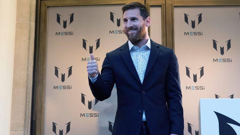 Messi lanzó línea de ropa inspirada en su vida