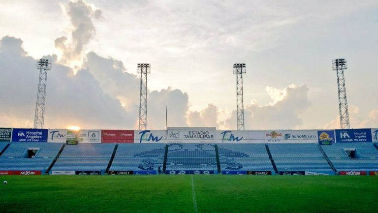 Vista del estadio Tamaulipas