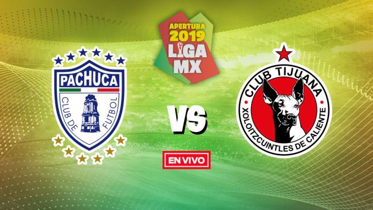 EN VIVO Y EN DIRECTO: Pachuca vs Tijuana