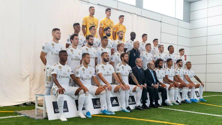 Foto oficial del Real Madrid para la temporada 2019-2020