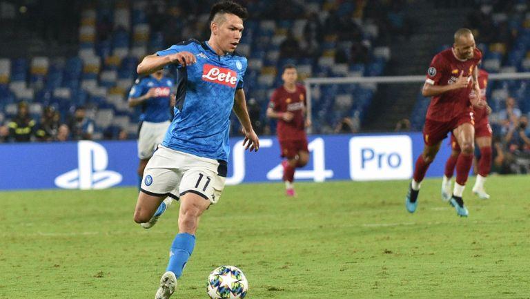 Hirving Lozano rechazó al Milan y al París Saint Germain por llegar a Napoli