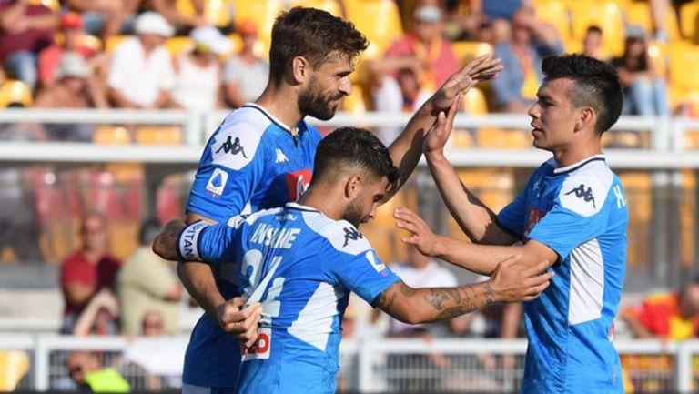 Llorente marca un doblete al Lecce