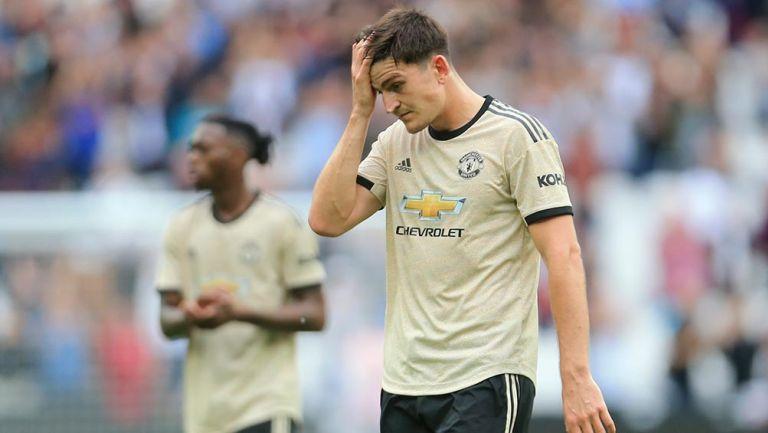 Harry Maguire lamenta la derrota del Manchester United