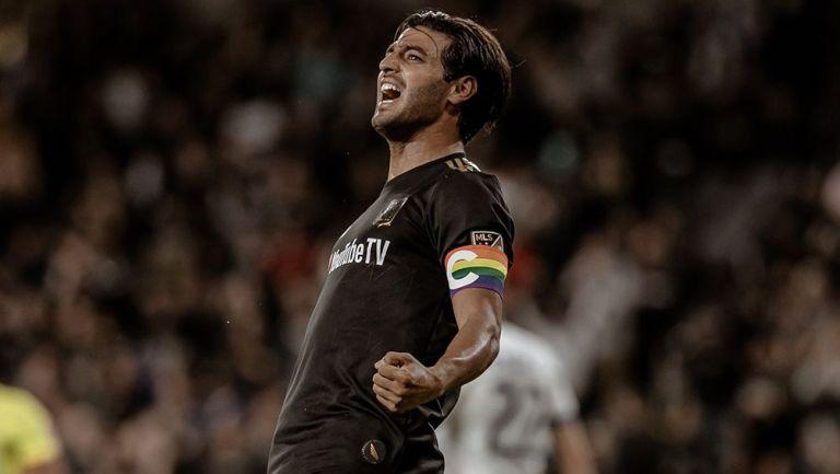 Carlos Vela gana con Los Ángeles FC la Supporters' Shield