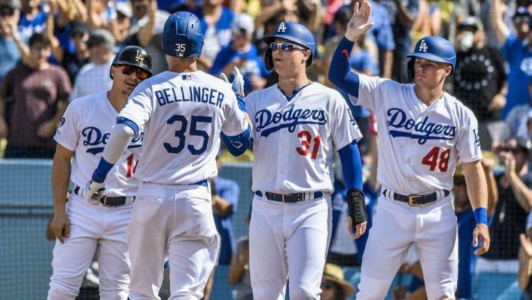 Dodgers terminó la temporada regular como el mejor de la Liga Nacional