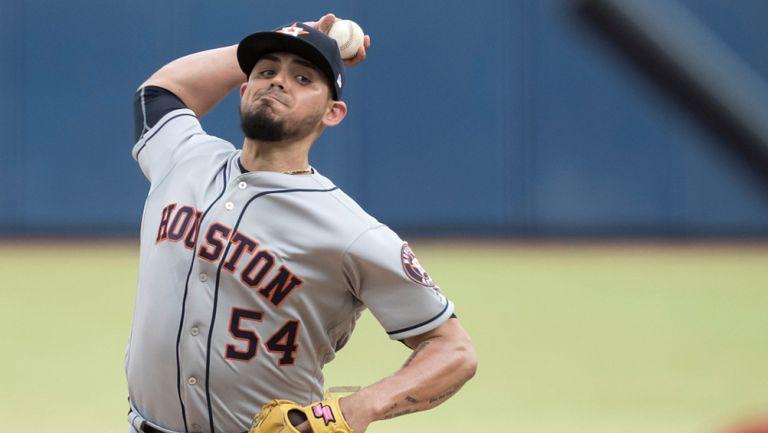 Osuna tuvo 38 salvamentos en la temporada regular con Astros