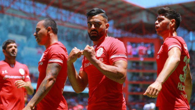 Club Puebla igualó 1-1 ante Toluca en el Nemesio Díez
