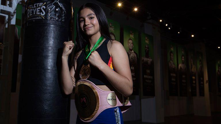 Stephanie Martínez posa para la lente de RÉCORD