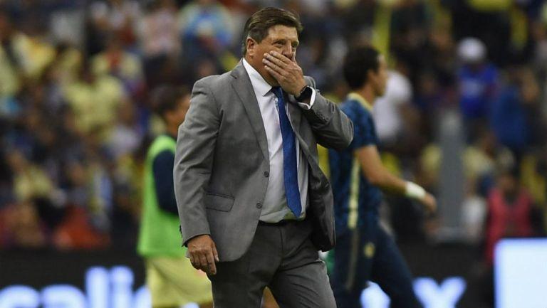 Miguel Herrera tras la goleada de Cruz Azul al América en el A2019