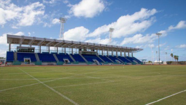 El Estadio Nacional de Bermuda