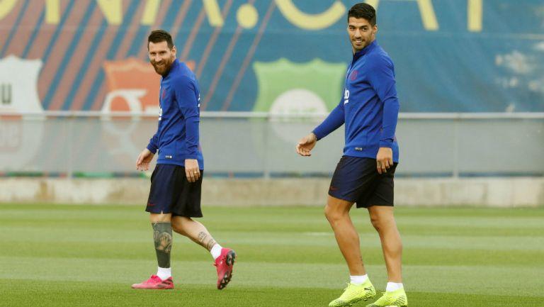 Messi y Suárez la hacen de reguetoneros con Anuel y Calle 13