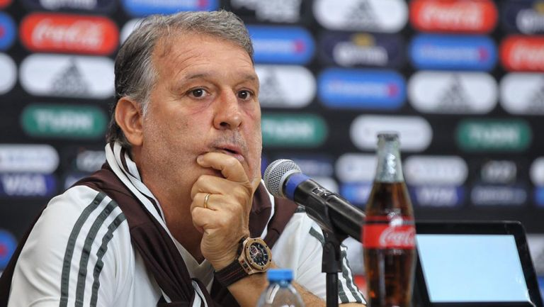 Gerardo Martino en conferencia de prensa