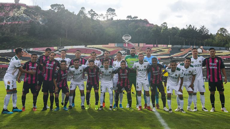 Cafetaleros y Potros previo al partido del Ascenso MX