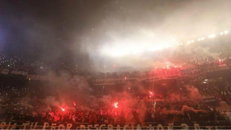 El Monumental en el River Plate vs Boca Juniors por las Semifinales de Copa Libertadores
