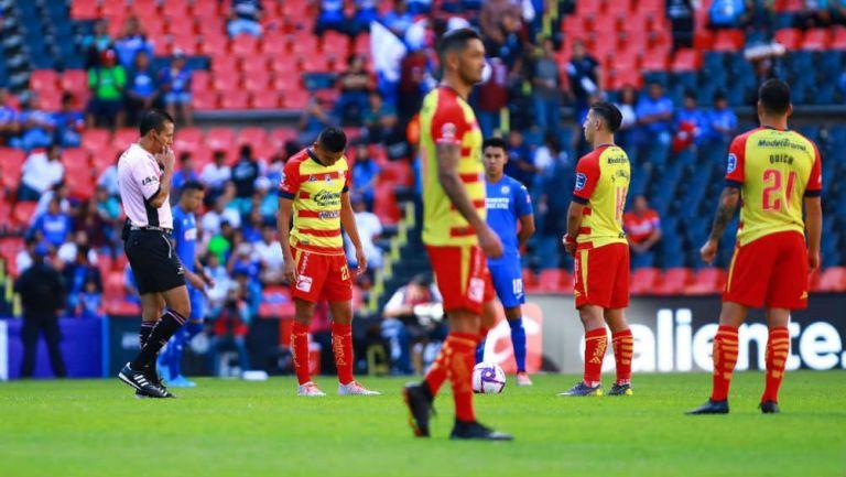 Jugadores de Cruz Azul y Morelia, inactivos