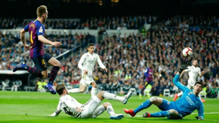 Ivan Rakitic manda a guardar la redonda frente al Real Madrid