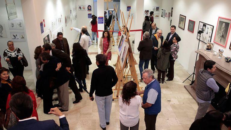 La exhibición en honor a APEBAS