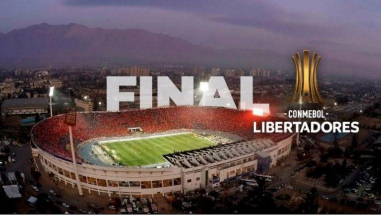 Anuncio hace un par de meses del Estadio Nacional de Santiago como sede de la Final de Copa Libertadores