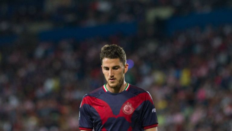 Hiram Mier, jugador de Chivas