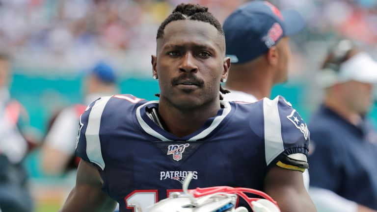 Antonio Brown jugó un solo partido con los Patriots