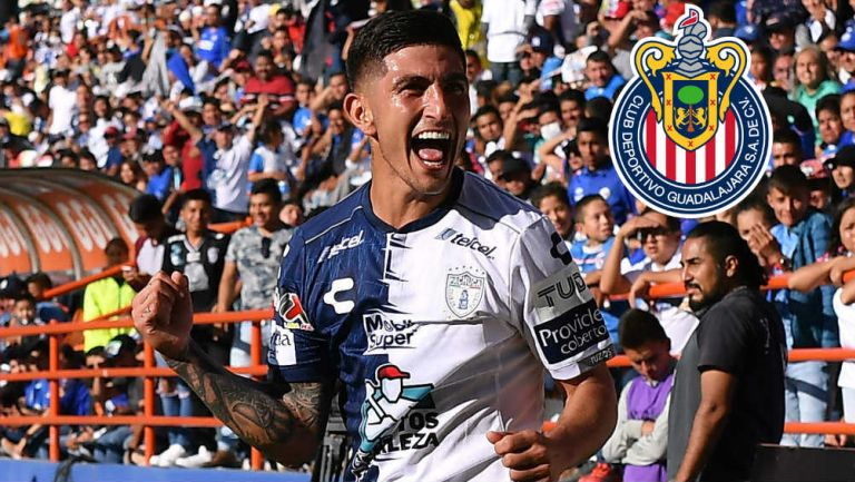 Víctor Guzmán abre las puertas a un regreso a Chivas