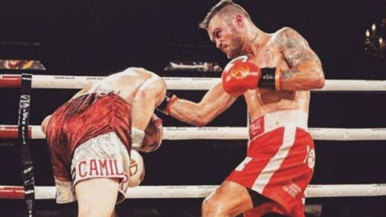 Boxeador había vencido al cáncer en dos ocasiones...muere durante un sparring
