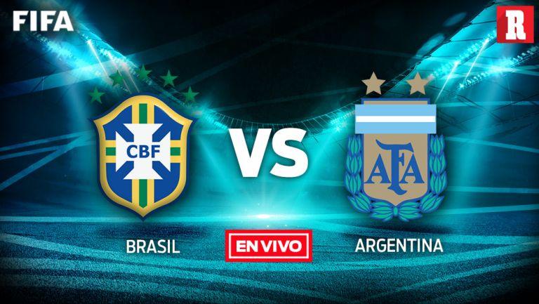 EN VIVO y EN DIRECTO: Brasil vs Argentina