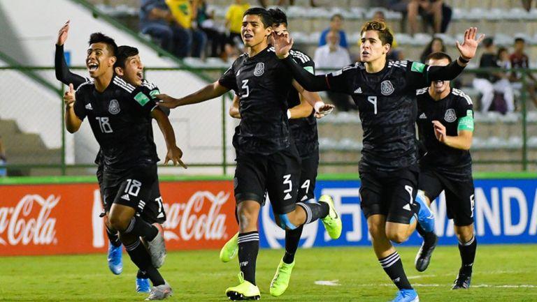 Seleccionados de la Sub 17 festejan su pase a la Final del Mundial
