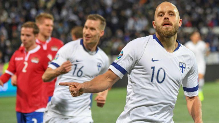 Teemu Pukki marcó dos goles a Liechtenstein