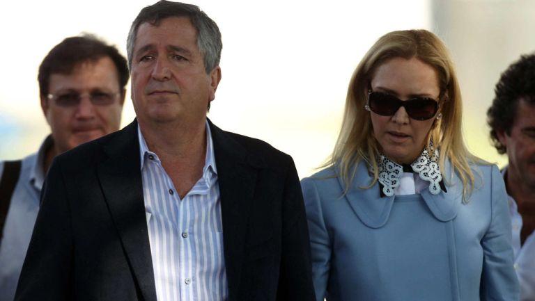 Jorge Vergara y Angelica Fuentes en Verde Valle