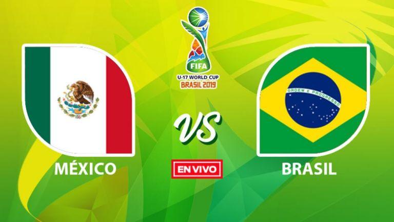 EN VIVO Y EN DIRECTO: México vs Brasil