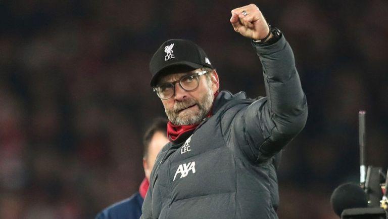 Jürgen Klopp, en un juego del Liverpool