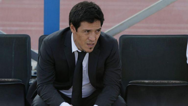 Mauro Camoranesi, en un juego de Coras en 2015