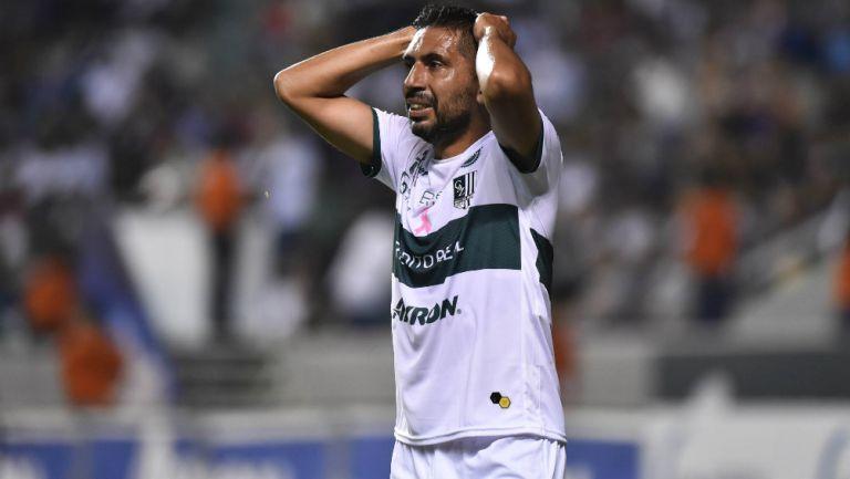 Erbin Trejo lamenta no haber logrado marcar un gol