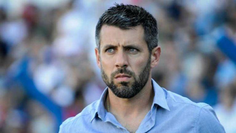 Paulo Pezzolano, durante un partido