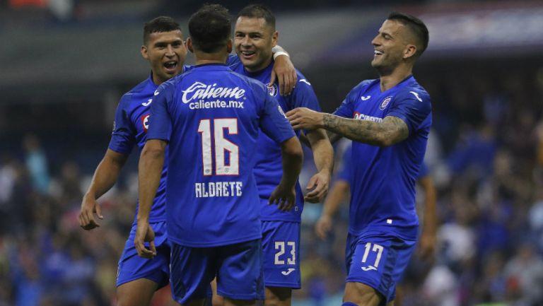 Cruz Azul durante su cierre en el Apertura 2019