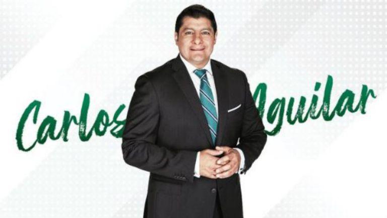 Carlos Aguilar, presentado por TUDN
