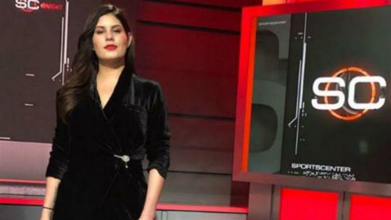 Carlina Padrón, presentadora de ESPN