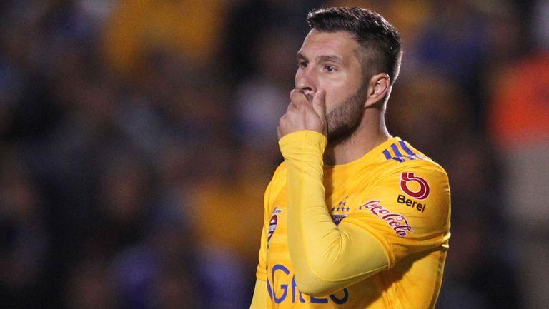 André Pierre Gignac lamenta una acción con Tigres
