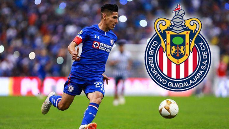José Madueña en un partido con Cruz Azul
